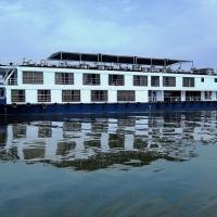 Rajmahal Cruise Ship Side View