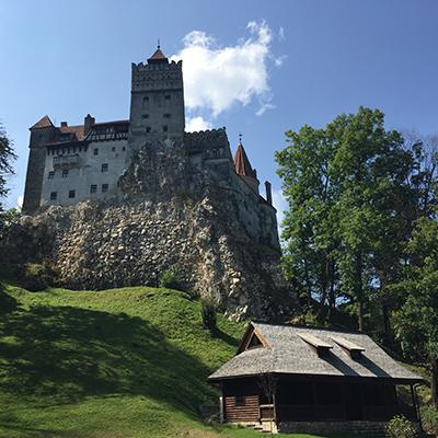 Bran Castle Romania Danube River