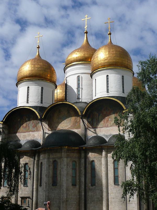 Kremlin-Cathedral-Moscow-Russia